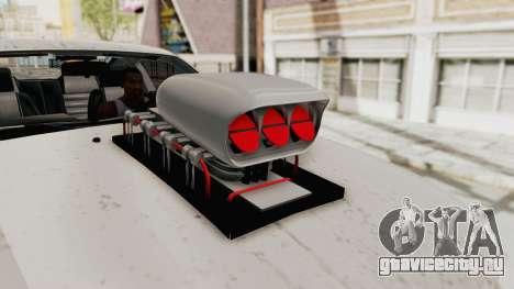 Ford Mustang 2005 Monster Truck для GTA San Andreas вид изнутри