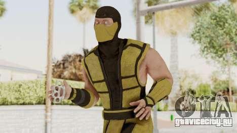 Mortal Kombat X Klassic Scorpion для GTA San Andreas