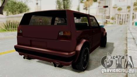 BF Club v2 для GTA San Andreas вид сзади слева