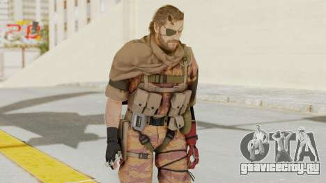 MGSV The Phantom Pain Venom Snake Scarf v5 для GTA San Andreas