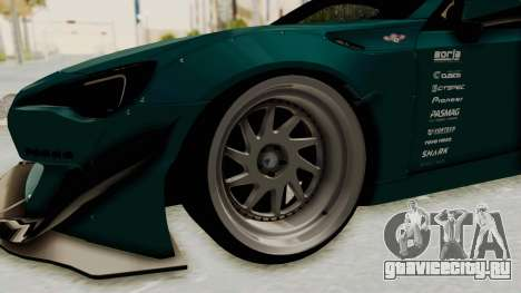 Scion FRS Rocket Bunny Killagram v1.0 для GTA San Andreas вид сзади
