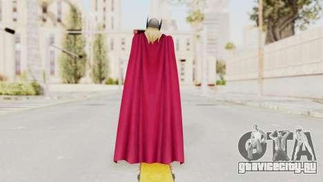 Marvel Future Fight - Thor (Jane Foster) для GTA San Andreas третий скриншот