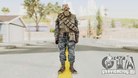 COD BO Russian Spetznas Flak MP v4 для GTA San Andreas второй скриншот