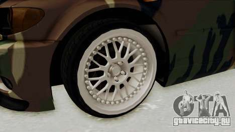 BMW 3 Series E46 для GTA San Andreas вид сзади