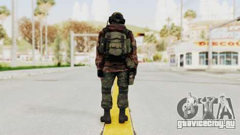 Battery Online Russian Soldier 7 для GTA San Andreas третий скриншот
