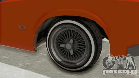 GTA 5 Declasse Sabre GT2 B для GTA San Andreas вид сзади