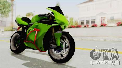 Ducati 998R Modif Stunt для GTA San Andreas вид справа