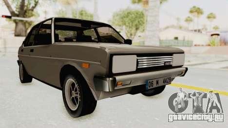 Fiat 131 Supermirafiori для GTA San Andreas
