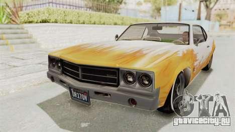 GTA 5 Declasse Sabre GT2 A для GTA San Andreas вид сбоку