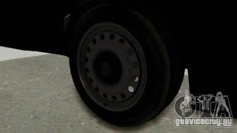 Volkswagen Golf 2 Tuning для GTA San Andreas вид сзади