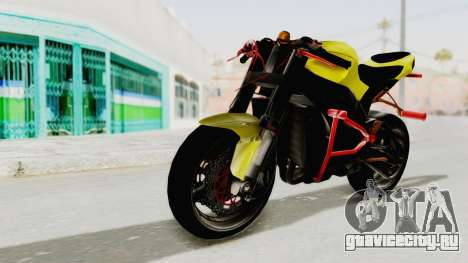 Kawasaki Ninja ZX-10R Nakedbike Stunter для GTA San Andreas
