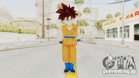 Dragon Ball Xenoverse Gohan Teen DBS SSG v2 для GTA San Andreas второй скриншот