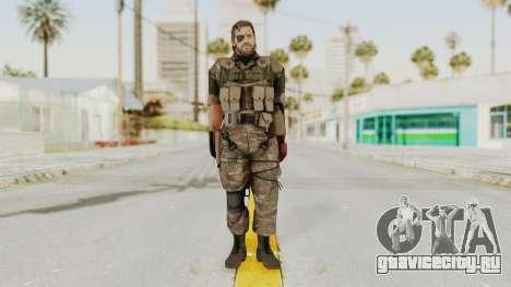 MGSV The Phantom Pain Venom Snake Wetwork для GTA San Andreas второй скриншот