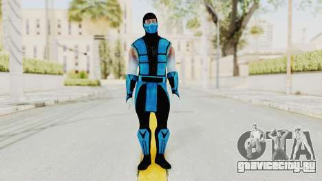 Mortal Kombat X Klassic Sub Zero UMK3 v2 для GTA San Andreas второй скриншот