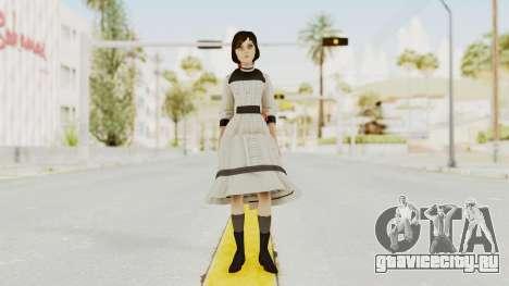 Bioshock Infinite Elizabeth Young для GTA San Andreas второй скриншот