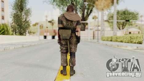 MGSV The Phantom Pain Venom Snake Scarf v6 для GTA San Andreas третий скриншот