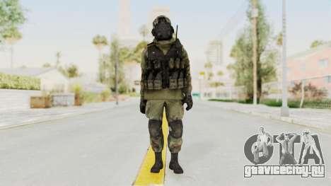 Advanced Warfare North Korean Assault Soldier для GTA San Andreas второй скриншот
