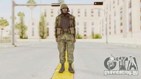 MGSV Ground Zeroes US Pilot v1 для GTA San Andreas второй скриншот