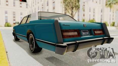 GTA 5 Dundreary Virgo Classic Custom v3 для GTA San Andreas вид справа