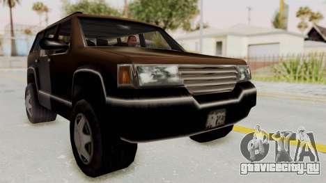 Landstalker from GTA 3 для GTA San Andreas вид справа