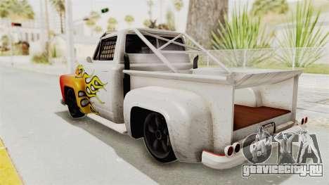 GTA 5 Slamvan Race PJ1 для GTA San Andreas вид сверху