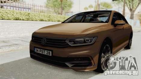 Volkswagen Passat B8 2016 RLine IVF для GTA San Andreas