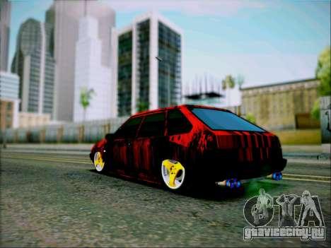 ВАЗ 2109 Злюка для GTA San Andreas вид слева
