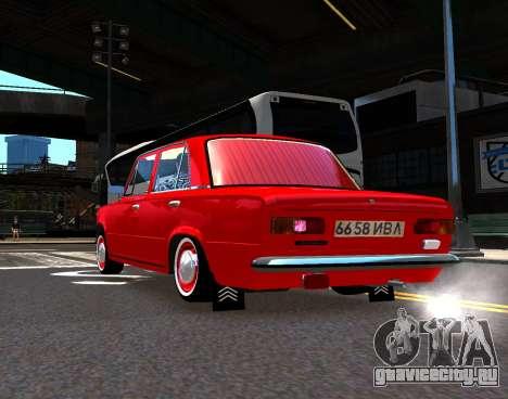 ВАЗ 21011 Заводской для GTA 4 вид слева