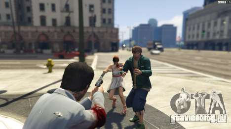 Realistic Bullet Damage для GTA 5