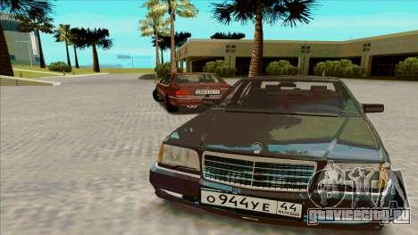 Mercedez-Benz W140 для GTA San Andreas
