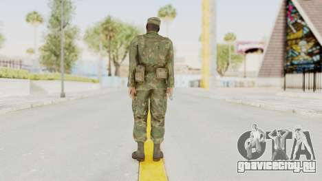 MGSV Ground Zeroes US Soldier Armed v1 для GTA San Andreas третий скриншот