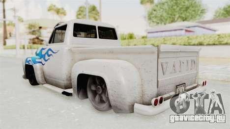 GTA 5 Slamvan Lowrider PJ1 для GTA San Andreas вид слева