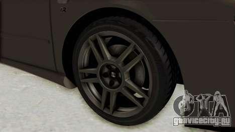 Seat Leon CupraR 2003 для GTA San Andreas вид сзади
