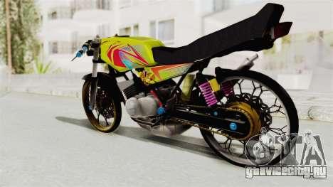 Yamaha RX King 200 CC Killing Ninja для GTA San Andreas вид справа