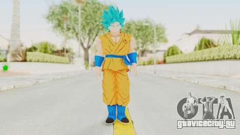 Dragon Ball Xenoverse Goku SSGSS V2.0 для GTA San Andreas второй скриншот