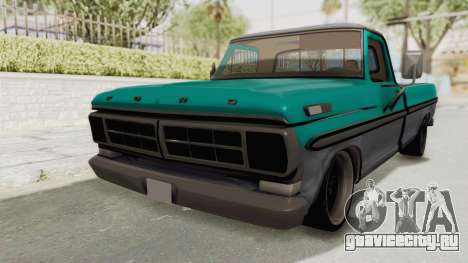 Ford F-150 Black Whells Edition для GTA San Andreas