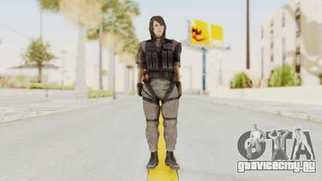 MGSV Phantom Pain Quiet XOF v2 для GTA San Andreas второй скриншот