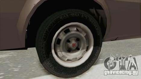 Vauxhall Cavalier MK1 Coupe для GTA San Andreas вид сзади