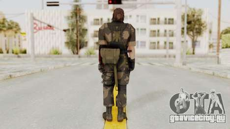 MGSV The Phantom Pain Venom Snake No Eyepatch v4 для GTA San Andreas третий скриншот