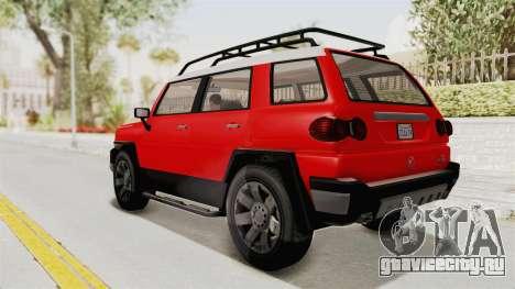 GTA 5 Karin Beejay XL IVF для GTA San Andreas вид слева