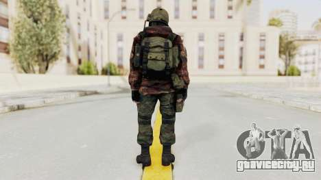 Battery Online Russian Soldier 10 v2 для GTA San Andreas третий скриншот
