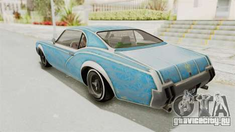 GTA 5 Declasse Sabre GT2 A для GTA San Andreas колёса