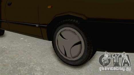 Dacia 1310 Berlina 2001 Stock для GTA San Andreas вид сзади