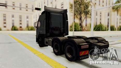 Volvo FM Euro 6 6x4 v1.0 для GTA San Andreas вид сзади слева