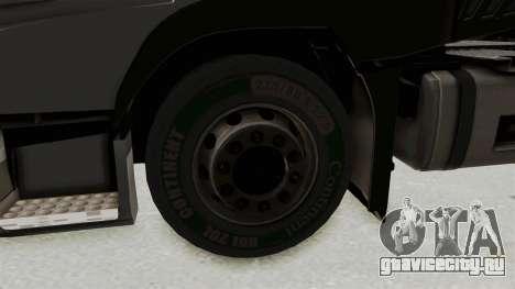 Volvo FM Euro 6 6x4 v1.0 для GTA San Andreas вид сзади