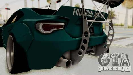Scion FRS Rocket Bunny Killagram v1.0 для GTA San Andreas вид снизу