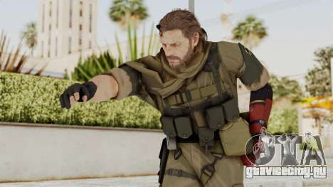 MGSV The Phantom Pain Venom Snake Sc No Patch v1 для GTA San Andreas