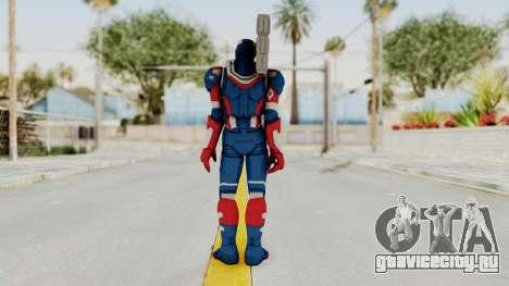 Marvel Heroes - Iron Patriot для GTA San Andreas третий скриншот