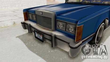 GTA 5 Dundreary Virgo Classic Custom v1 IVF для GTA San Andreas вид сбоку