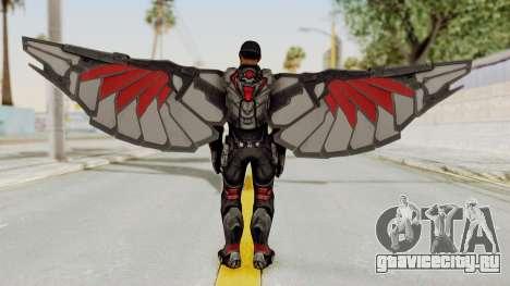 Captain America Civil War - Falcon для GTA San Andreas третий скриншот